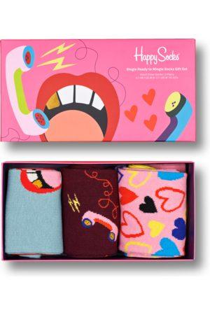 Happy Socks Sokken - 3-Pack Single Ready To Mingle Socks Gift Set