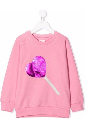 Wauw Capow by Bangbang Sweet Heart cotton sweatshirt