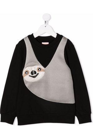 Wauw Capow by Bangbang Jongens Sweaters - Lazy Liam stretch-cotton sweatshirt