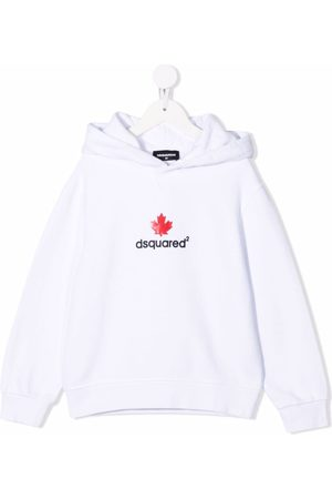 Dsquared2 Meisjes Hoodies - Logo-print cotton hoodie