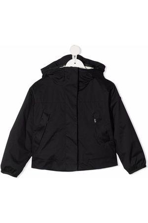 Moncler Meisjes Donsjassen - Funnel neck hooded jacket