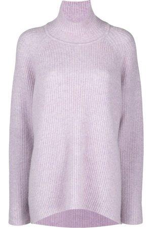CHRISTIAN WIJNANTS Dames Gebreide truien - Ribbed-knit high-neck jumper