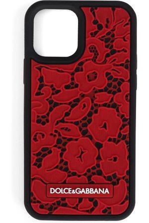Dolce & Gabbana Dames Telefoon hoesjes - Lace-effect iPhone 12 Pro case