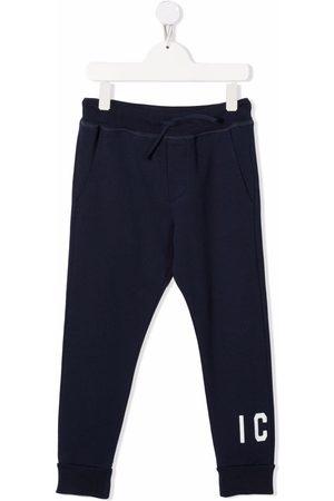 Dsquared2 Jongens Joggingbroeken - Logo-print cotton track pants