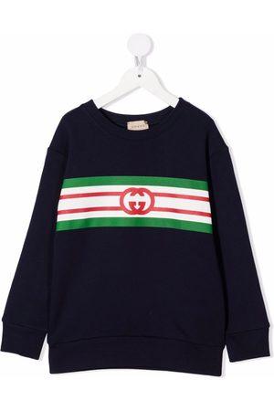 Gucci Meisjes Truien - GG monogram cotton jumper