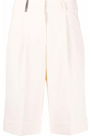 PESERICO SIGN Tailored knee-length shorts