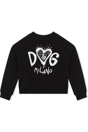 Dolce & Gabbana Logo-print cotton sweatshirt