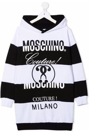 Moschino Meisjes Casual jurken - Logo-print hooded dress