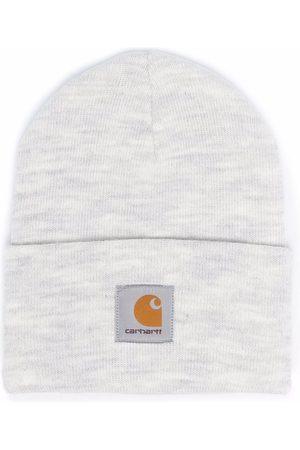 Carhartt Heren Mutsen - Logo-patch knitted beanie