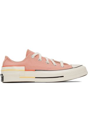 Converse Pink Colorblock Chuck 70 Low Sneakers