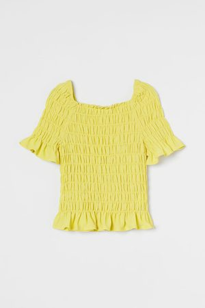 H&M Gesmokte bloes
