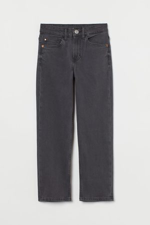 H&M Jongens Straight - Straight Fit Stretch Jeans