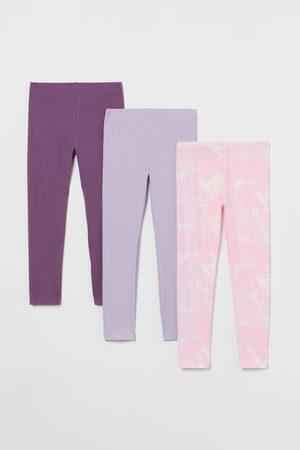 H & M Set van 3 tricot leggings