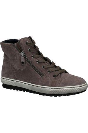 Gabor Grijze Hoge Sneakers
