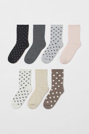H&M Meisjes Sokken - 7 paar sokken