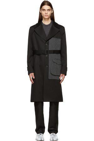 Maison Margiela Heren Trenchcoats - Black Virgin Wool Trench Coat