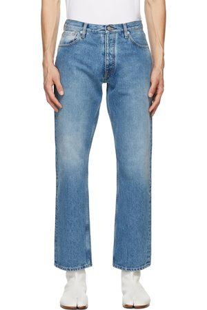 Maison Margiela Heren Straight - Blue Straight-Leg Jeans