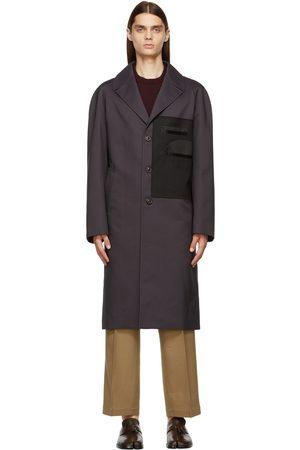 Maison Margiela Grey Memory Of Twill Trench Coat