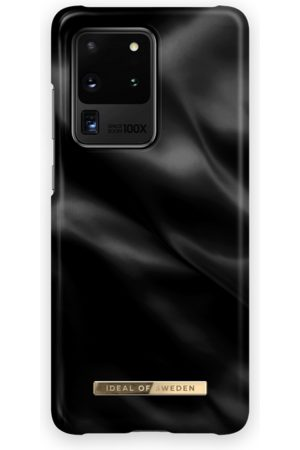 Ideal of sweden Telefoon hoesjes - Fashion Case Galaxy S20 Ultra Black Satin