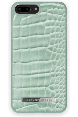 Ideal of sweden Telefoon hoesjes - Atelier Case iPhone 8 Plus Mint Croco