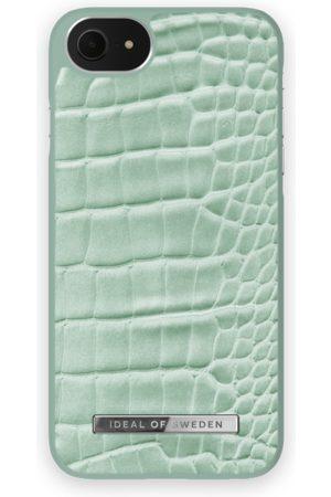 Ideal of sweden Telefoon hoesjes - Atelier Case iPhone 8 Mint Croco