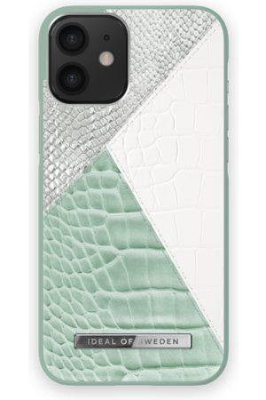 Ideal of sweden Telefoon hoesjes - Atelier Case iPhone 12 Mini Palladian Mint Snake