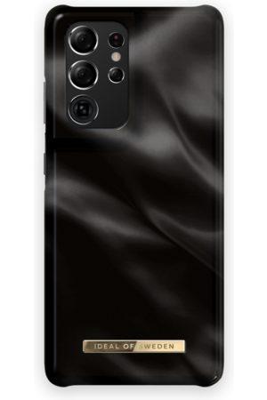 Ideal of sweden Telefoon hoesjes - Fashion Case Galaxy S21 Ultra Black Satin