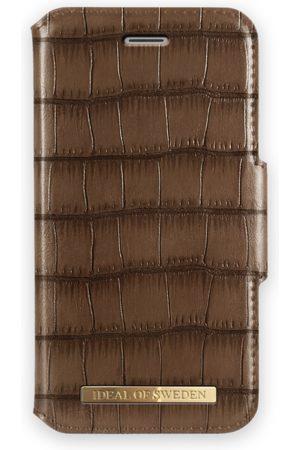 Ideal of sweden Telefoon hoesjes - Capri Wallet iPhone 8 Brown