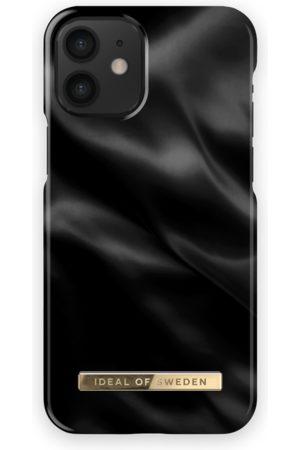 Ideal of sweden Fashion Case iPhone 12 Mini Black Satin