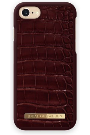 Ideal of sweden Croco Case iPhone 7 Claret Croco