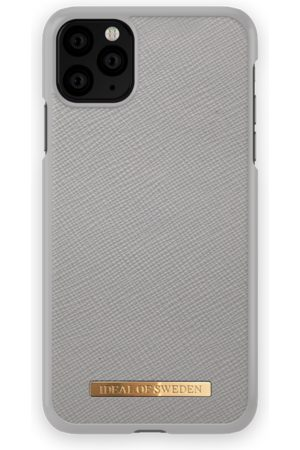 Ideal of sweden Saffiano Case iPhone 11 Pro Max Light Grey