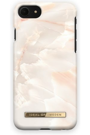 Ideal of sweden Telefoon hoesjes - Fashion Case iPhone 8 Rose Pearl Marble
