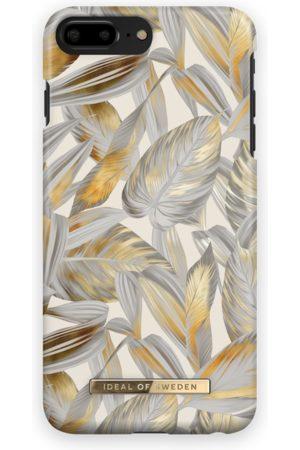 Ideal of sweden Fashion Case iPhone 7 Plus Platinum Leaves