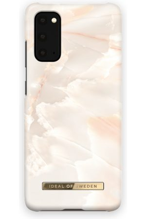 Ideal of sweden Telefoon hoesjes - Fashion Case Galaxy S20 Rose Pearl Marble
