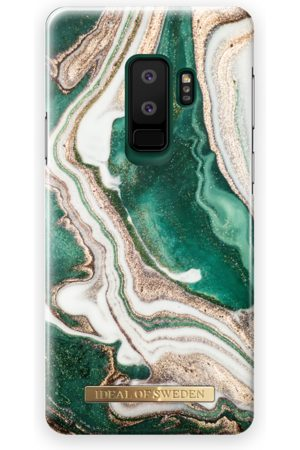 Ideal of sweden Fashion Case Galaxy S9 Plus Golden Jade Marble