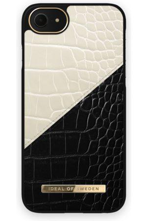 Ideal of sweden Atelier Case iPhone 8 Cream Black Croco