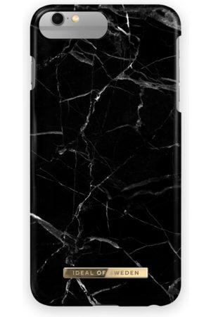 Ideal of sweden Telefoon hoesjes - Fashion Case iPhone 6/6S Plus Black Marble