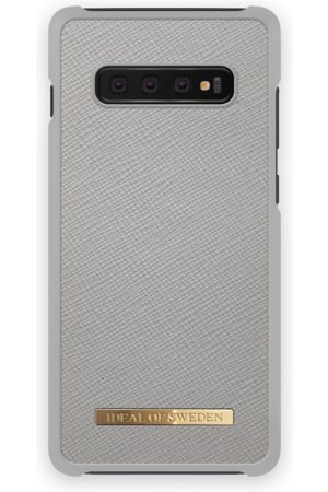 Ideal of sweden Saffiano Case Galaxy S10+ Light Grey
