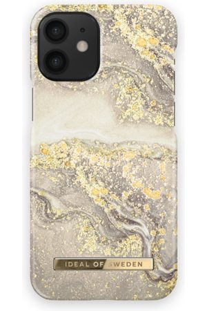 Ideal of sweden Fashion Case iPhone 12 Mini Sparkle Greige Marble