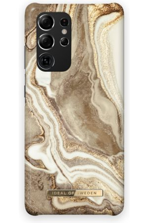 Ideal of sweden Fashion Case Galaxy S21 Ultra Golden Sand Marble