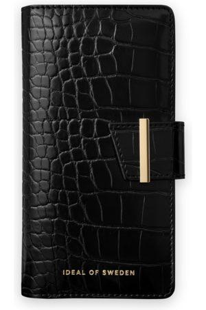 Ideal of sweden Cora Phone Wallet iPhone 12 Jet Black Croco