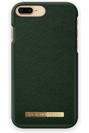 Ideal of sweden Telefoon hoesjes - Saffiano Case iPhone 7 Plus Green