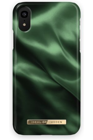 Ideal of sweden Fashion Case iPhone XR Emerald Satin