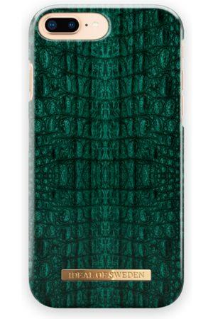 Ideal of sweden Telefoon hoesjes - Fashion Case iPhone 7 Plus Emerald Croco