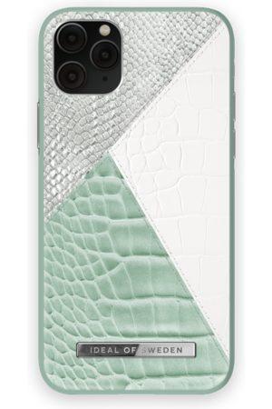 Ideal of sweden Telefoon hoesjes - Atelier Case iPhone 11 Pro Palladian Mint Snake