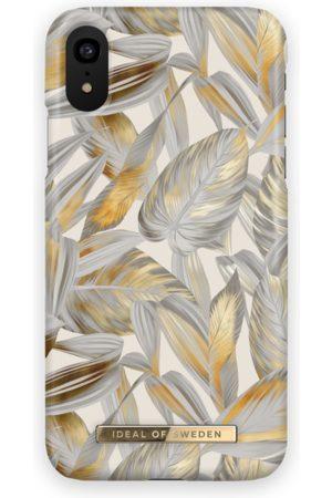 Ideal of sweden Fashion Case iPhone XR Platinum Leaves