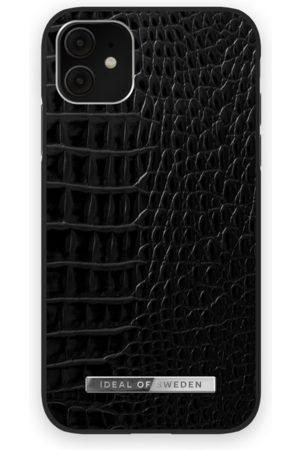 Ideal of sweden Telefoon hoesjes - Atelier Case iPhone 11 Neo Noir Croco Silver