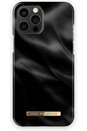 Ideal of sweden Fashion Case iPhone 12 Pro Max Black Satin
