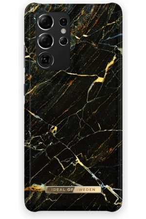 Ideal of sweden Telefoon hoesjes - Fashion Case Galaxy S21 Ultra Port Laurent Marble
