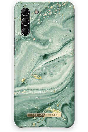 Ideal of sweden Fashion Case Galaxy S21 Plus Mint Swirl Marble